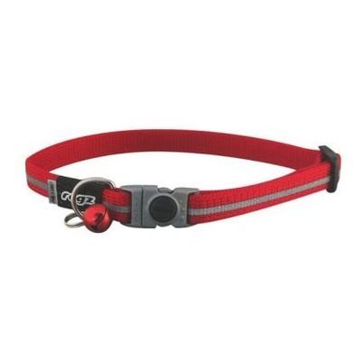 Rogz Alleycat Safeloc Collar - Red 11mm