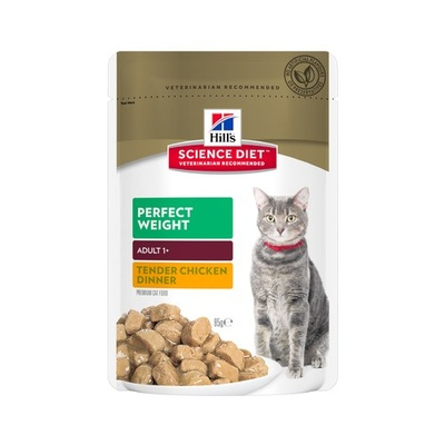 Hill's SD Cat Perfect Weight 12 x 85g Pouches