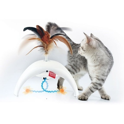 Feather Spinner 'Pet Droid' w/2 replacable natural feather caps and 3 motion sensors