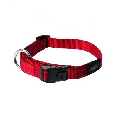 Rogz Snake Collar Medium Red