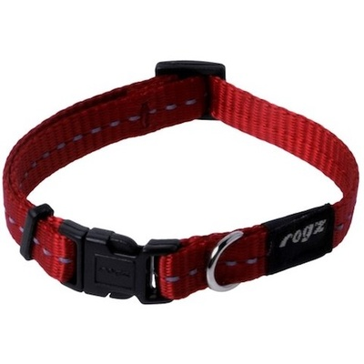 Rogz Nitelife Collar Small Red