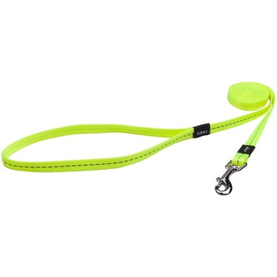 Rogz Nitelife Lead Small Dayglow Yellow