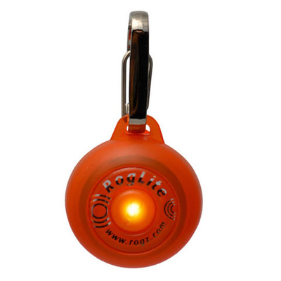 Rogz RogLite Dog Light Orange