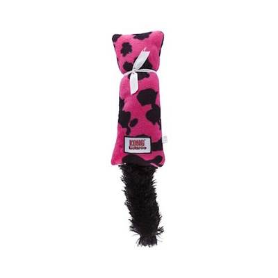 KONG Cat Kickeroo Pink & Black Print