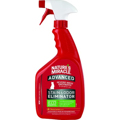 Natures Miracle Just For Cats Advanced Stain and Odour Eliminator - Sunny Lemon Scent 946ml