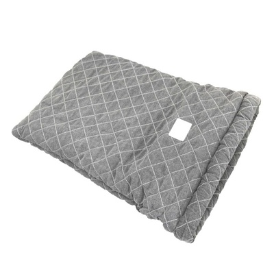 T&S Pet Bed Tunnel Quilted Grey