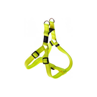 Rogz Fanbelt Large Step-In Harness Dayglow Yellow