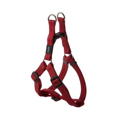 Rogz Snake Medium Step-In Harness Red