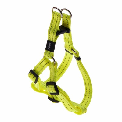 Rogz Snake Medium Step-In Harness Dayglow Yellow