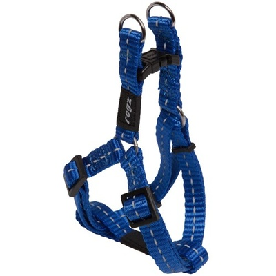 Rogz Nitelife Small Step-In Harness Blue