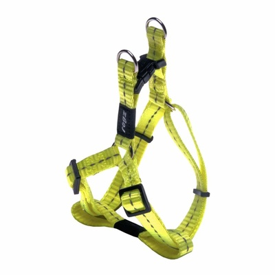 Rogz Nitelife Small Step-In Harness Dayglow Yellow