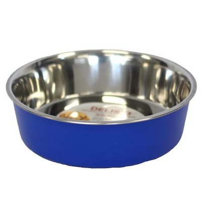 Bella Stainless Steel Pet Bowl 25cm Blue