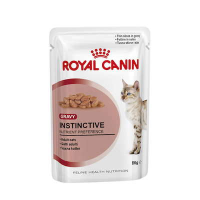 Royal Canin Cat Instinctive in Gravy Adult 85g