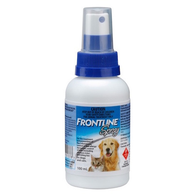 Frontline Spray Flea Control for Dogs and Cats (100ml)