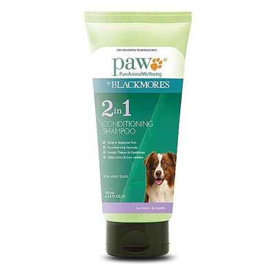 PAW Dog 2 in 1 Shampoo Conditioner 200ml