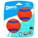 "Chuckit! Medium Ultra Ball 6.35cm (2.5"") 2 Pack"