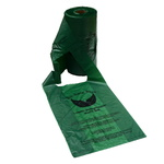 BioGone Poo Bags With Handles - Roll of 500