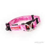 EzyDog Double Up Dog Collar Small Pink Camo