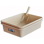 Catmate Two Piece Sieve Tray Kit with Litter Scoop
