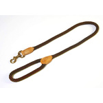 Da Vinci Dog Rope Lead 110cm Brown
