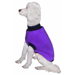 Dog Skivvy Coat 45cm Purple