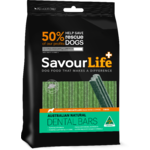 SavourLife Australian Natural Dental Bars (5 Pack) for Medium/Large Dogs