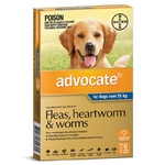 Advocate for Dogs Over 25kg - Blue 6 Pack
