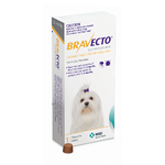 Bravecto Very Small Dogs Yellow 2-4.5kg 112.5mg 3 Months Flea Protection