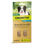 Drontal Allwormer Chewables for Dogs